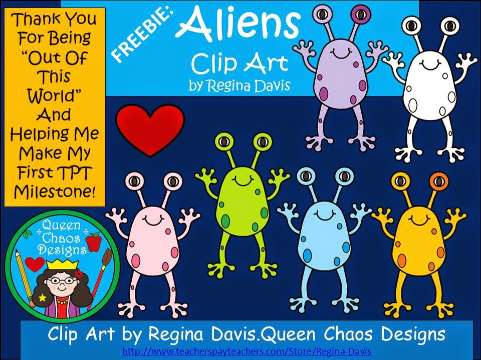 http://www.teacherspayteachers.com/Product/AFREEBIEClip-Art-AliensTHANK-YOU-for-being-OUT-OF-THIS-WORLD-1213783