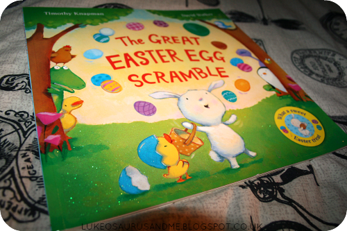 The Great Easter Egg Scramble Review. Easter Books. www.lukeosaurusandme.blogspot.co.uk