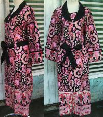 abaya pesta batik