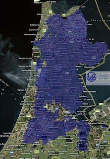 Noord Holland t.o.v. NAP