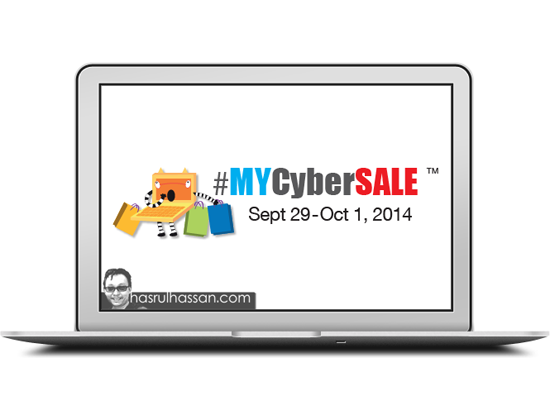 MyCyberSale Dua Hari Jualan Besar Besaran Online
