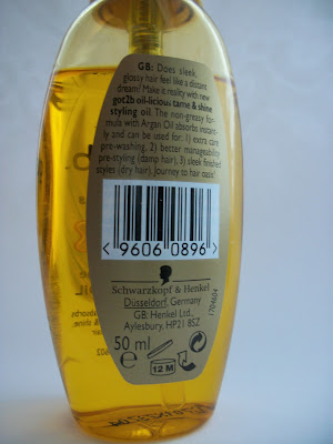 got2b Oil-licious Styling Oil