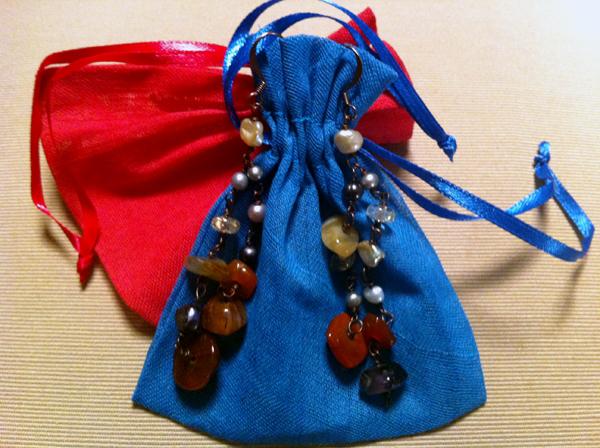 Alberica Jacini earrings on Design and fashion recipes