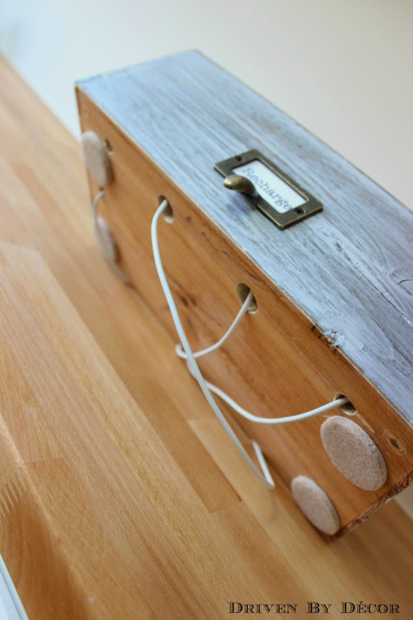 Family Charging Station Handy Diy: diy cell phone charging station