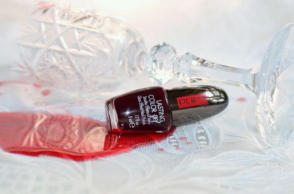 Pupa Long color gel glass effect nail polish # 30 Neo bourgeoise