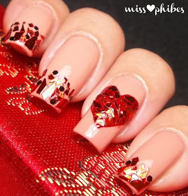 Nail Art San Valentín