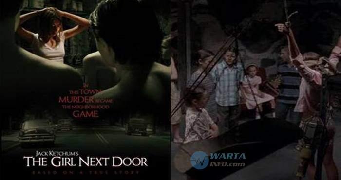 sinopsis cerita foto poster The girl next door film horor barat terseram dari kisah nyata mengerikan