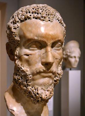 """""""Portrait of a Bearded Man"""", Carlos Museum"""