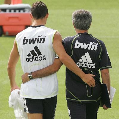 Mourinho expresó su cariño y su apoyo a Cristiano