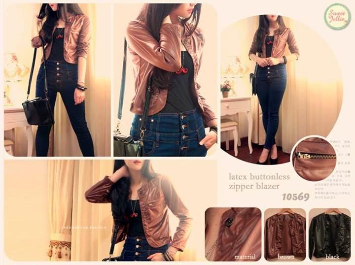 jaket kulit wanita, jaket kulit murah, blazer cewek, blazer terbaru, model baju 2014