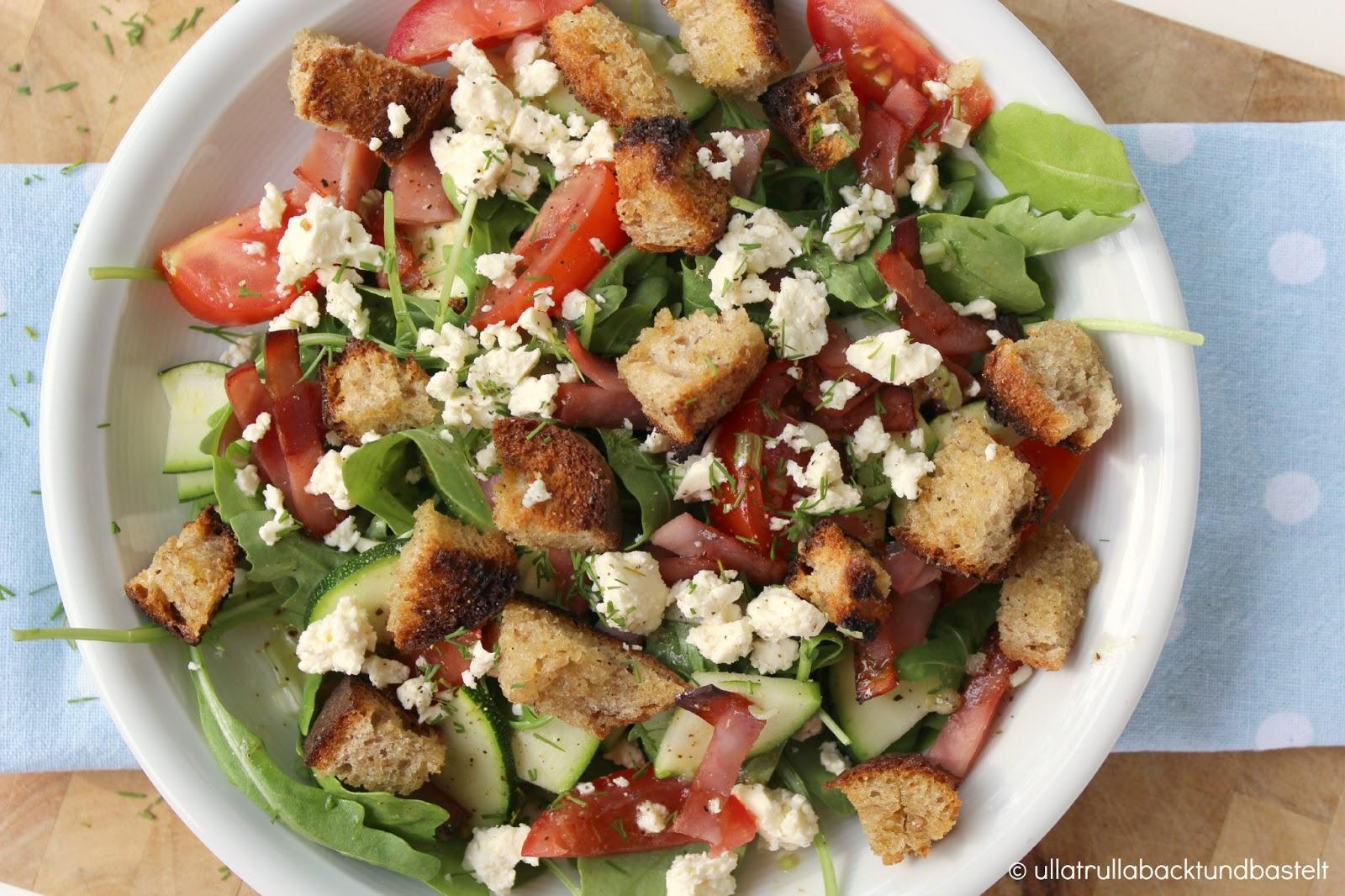 Ullatrulla backt und bastelt salat mal anders rezept for Kochen italienisch