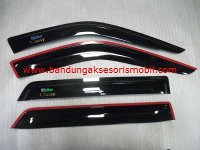 Talang Air Classy Original Black Depan Belakang