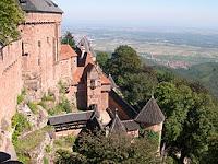 Tempat Wisata Di Perancis - Chateau du Haut-Koenigsbourg