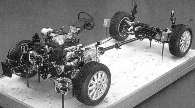 Toyota Soarer, UZZ32, barebone, szkielet, japońskie ciekawostki