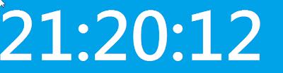 簡潔醒目的螢幕桌面數字大時鐘,WayneClock V2.0.2 繁體中文綠色免安裝版!