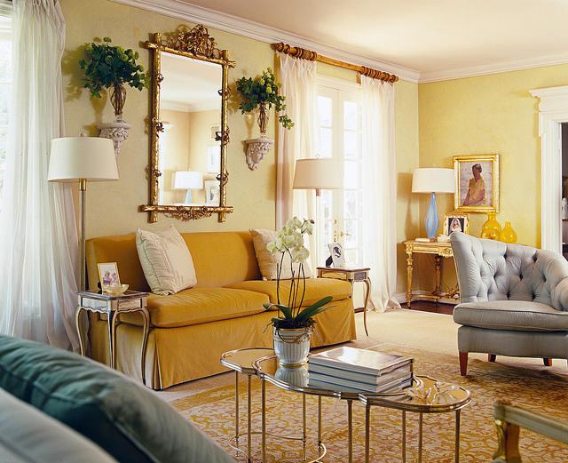 Beachnut Lane: Soft yellows from Benjamin Moore~ Hawthorne Yellow ...