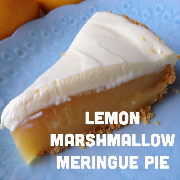 Lemon Marshmallow Meringue Pie