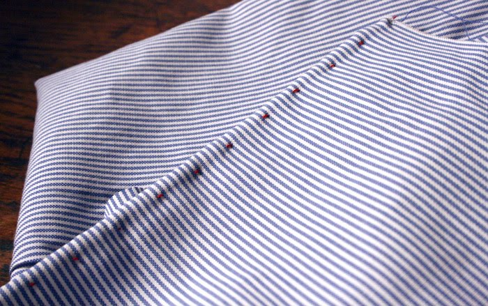hand-rolled oxford edge
