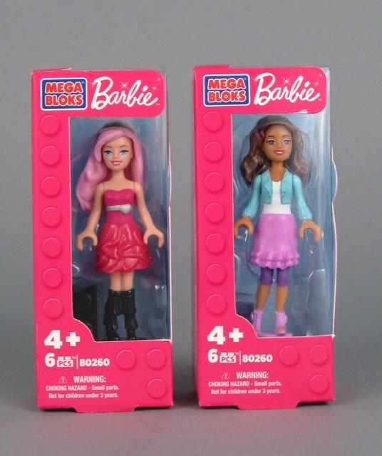 Mega Bloks Barbie figures