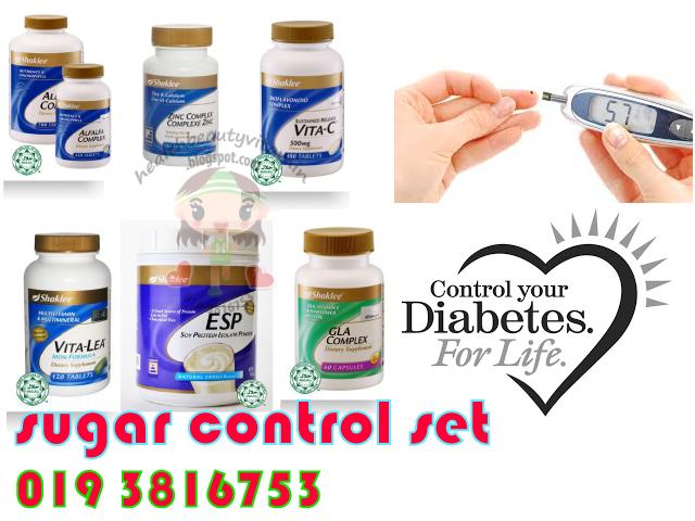 sugar control set shaklee