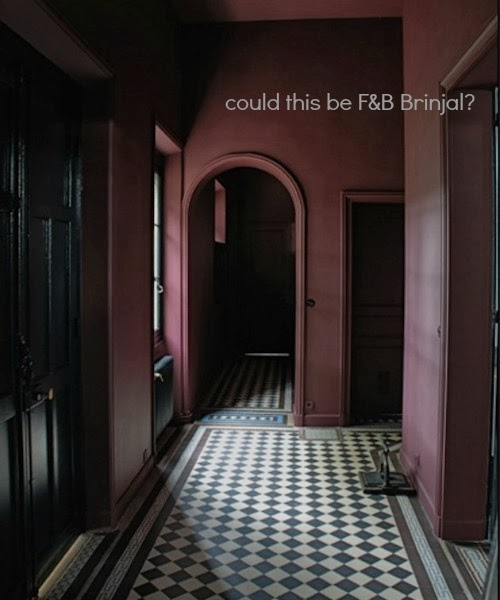 i think this might be farrow ball brinjal image from pinterest here it is probably not right for the room i have in mind but its a great colour - Farrow And Ball Brinjal