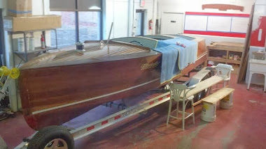 Before-1941 Morin Craft 22' Restoration