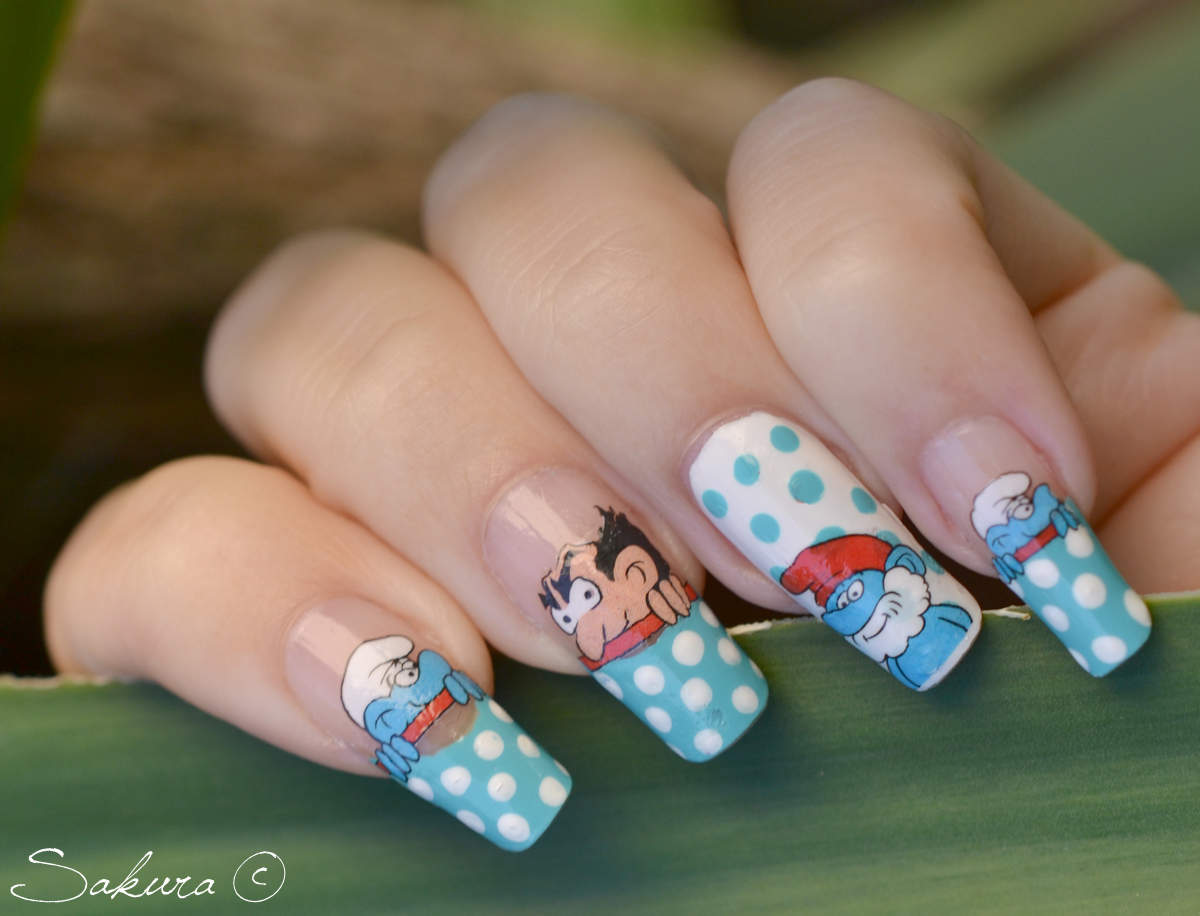 The Cool Best black and white nail designs Photo