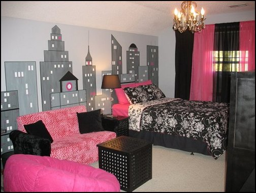 Decorating theme bedrooms maries manor new york style for New york city decor