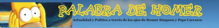 PALABRA DE HOMER