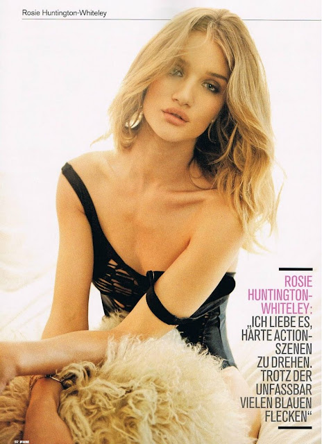 Rosie Huntington-Whiteley Bikini FHM Germany