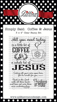 Simply Said: Coffee & Jesus Stamp Set