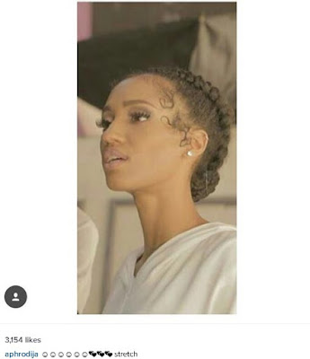 """Di'ja Proudly Shows Off Her """"Long Throat"""" (Photo)"""