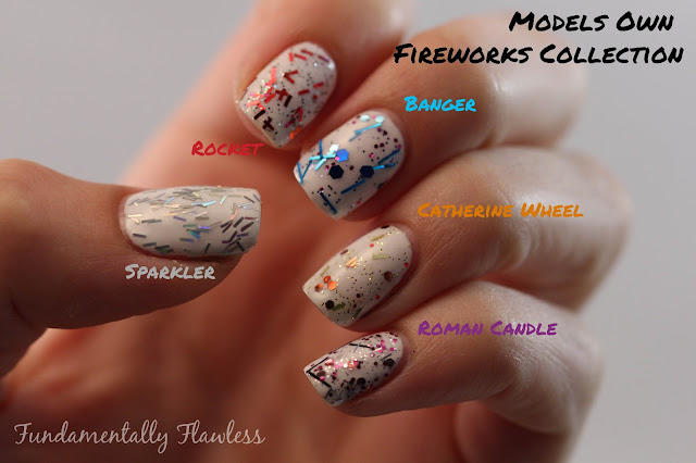 Fundamentally Flawless: Models Own Fireworks Collection Swatch