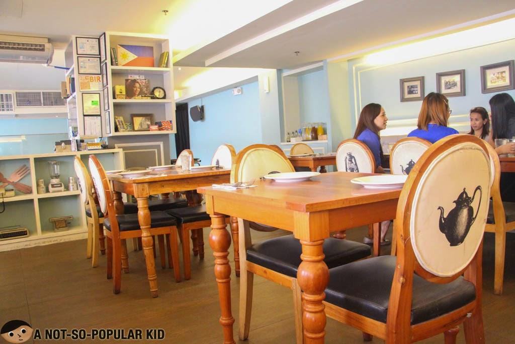 Dekada Filipino Cuisine Restaurant Interior