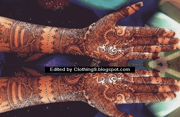 Latest Mehndi Designs New Eid Collection 2015 For Girls ...
