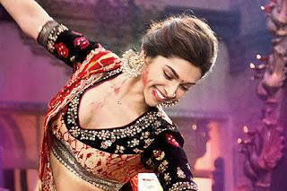 Deepika Padukone - Ram Leela Style guide - patchwork blouse