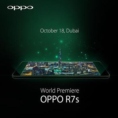 Oppo R7s mobile