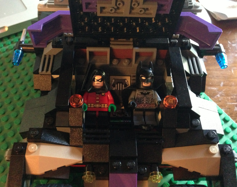 Thoughts About Baseball and Batman LEGO Tumbler an exercise in