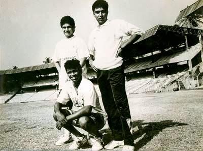 tendulkar with sanjay