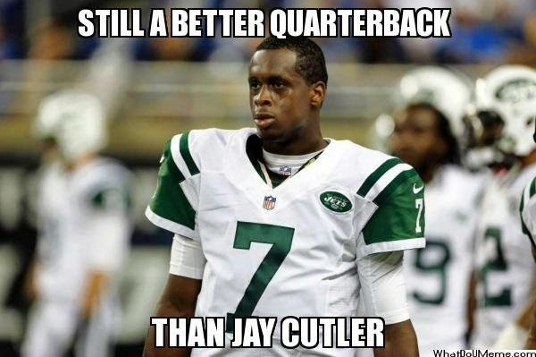 still a better quarterback than jay cutler - #Jets #BearsHaters