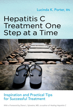 http://www.amazon.com/s/ref=nb_sb_noss?url=search-alias%3Dstripbooks&field-keywords=Hepatitis%20C%20Treatment%20One%20Step%20at%20a%20Time%20