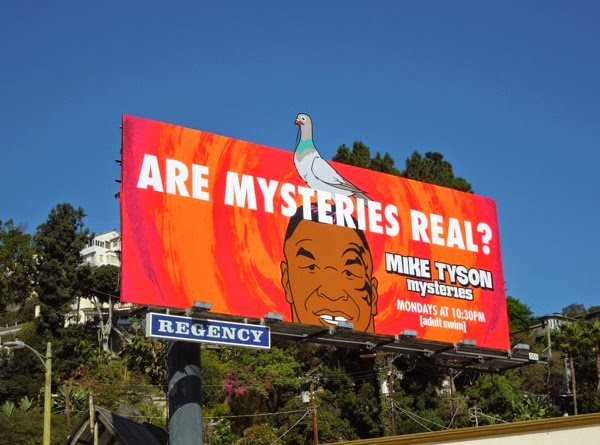 Mike Tyson Mysteries series premiere billboard