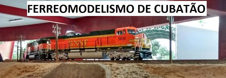 FERREOMODELISMO DE CUBATÃO