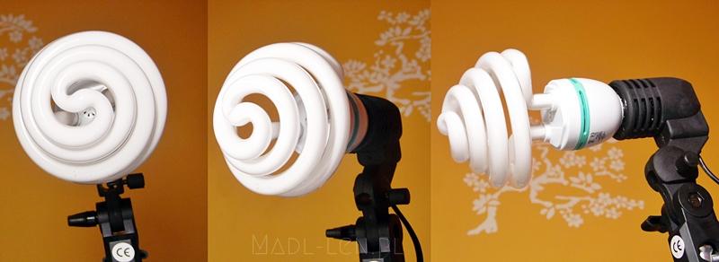 lampa do zdjęć, oświetlenie studyjne, żarówka, światło dzienne