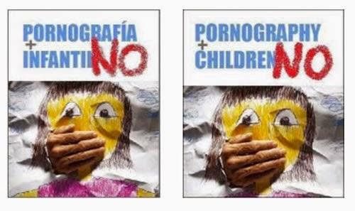 CONDENA LA PORNOGRAFÍA INFANTIL