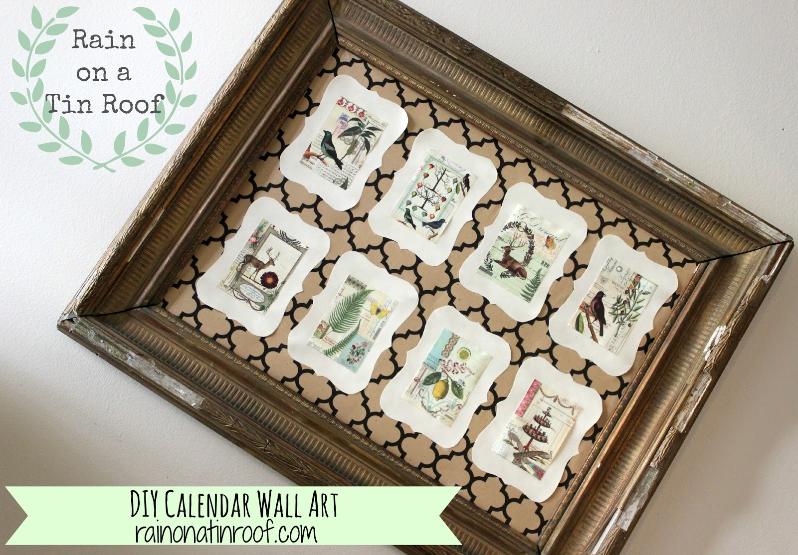 Diy Calendar Wall Art : Diy calendar wall art a giveaway