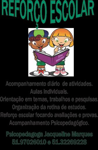 reforço escolar, atendimento psicopedagógico, dificuldades de aprendizagem,psicopedagoga clínica e institucional