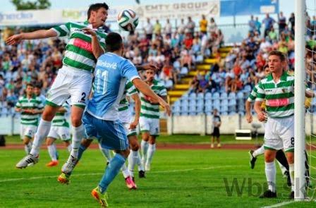 The New Saints vs Slovan Bratislava