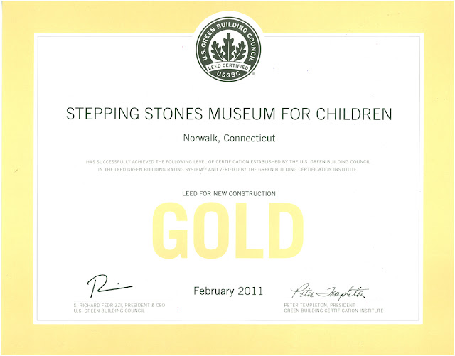 Beinfield architecture stepping stones museum for for Leed home certification