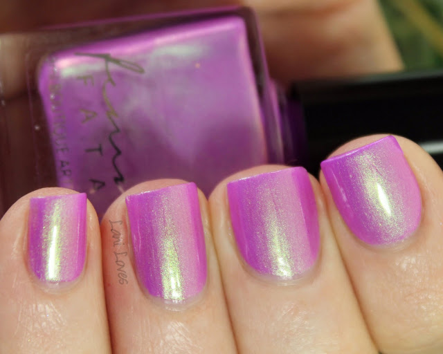 Femme Fatale Cosmetics Love's Wound nail polish Swatches & Review